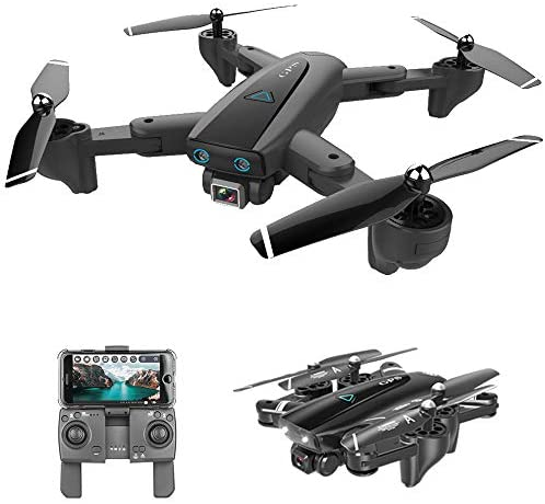 GoolRC CSJ S167 GPS Drone, 2.4G WiFi FPV RC Drone with Camera 4K HD Gesture Photos Video, Auto Return Home, Altitude Hold, Follow Me RC Quadcopter for Adults