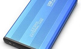 1TB 2TB External Hard Drive, Portable Hard Drive USB 3.0SlimCompatible with PC, Laptop and Mac (2TB, Blue)