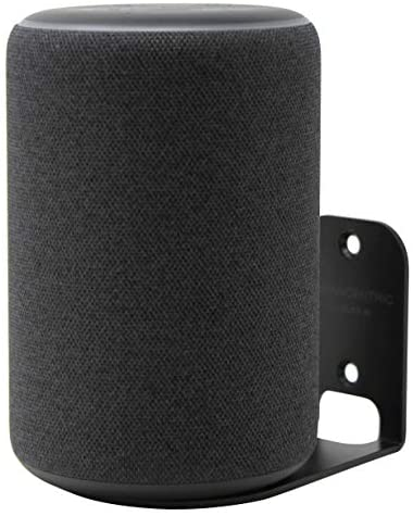 HumanCentric Wall Mount Compatible with Amazon Echo Plus (2nd Generation, 2018 Release) – Black