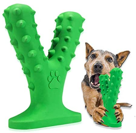 XLXX Dog chew Toys for Aggressive chewers, Aggressive chew Toys,Dog Toothbrush Chew Toys Dog Chew Toothbrush Dog Teeth Cleaning Toy Dog Teeth Chew Stick Help Dogs Release Pressure
