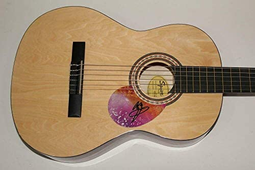 Jimmy Page Signed Autograph Fender Brand Acoustic Guitar Led Zeppelin Very Rare! – Guitars