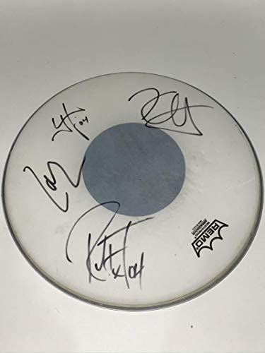 Metallica Signed Autograph Drumhead – Stage Used Full Band Real Epperson – Drumheads