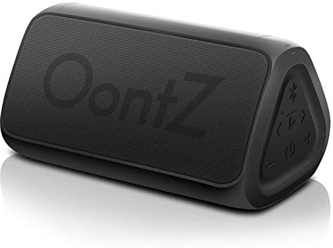 OontZ Angle 3 (3rd Gen) Portable Bluetooth Speaker – RainDance Edition, Louder Crystal Clear Stereo Sound, Rich bass, 100 Ft Wireless Speaker Range, IPX7, Bluetooth Speakers (Black)