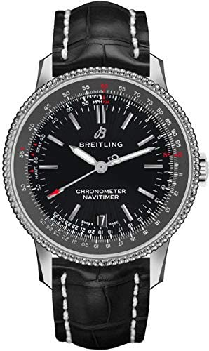 Breitling Navitimer 1 Automatic 38 Black Dial Men's Watch A17325241B1P1