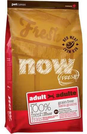 Now Fresh Grain Free Red Meat Adult Recipe Dog Food – 25lb