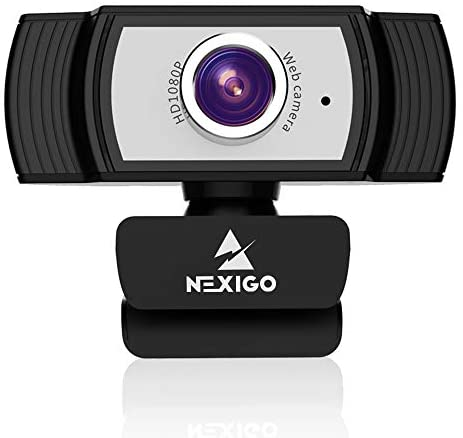 1080P Webcam with Microphone, 2021 NexiGo Streaming Computer Camera, for Zoom Meeting/Skype/FaceTime/Teams/OBS/Xbox/XSplit, Compatible with Mac OS Windows Laptop Desktop PC Monitors
