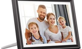Dragon Touch WiFi Digital Picture Frame 10 inch IPS Touch Screen HD Display 1920×1200, 16GB Storage, Auto-Rotate, Share Pictures via App, E-Mail, Cloud – Classic 10 FHD