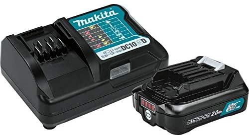 Makita BL1021BDC1 12V Max CXT Lithium-Ion Battery and Charger Starter Pack