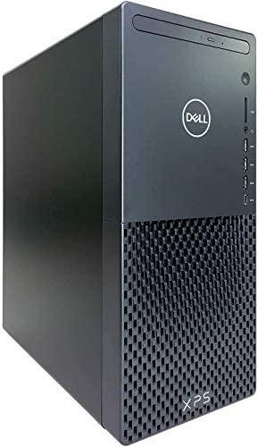 CUK XPS 8940 Gaming Desktop (Intel Core i7, 32GB RAM, 512GB NVMe SSD + 1TB HDD, NVIDIA GeForce GTX 1660 Super, DVD-RW, 500W PSU, Windows 10 Pro) Professional Content Creation Tower PC (Made_by_Dell)