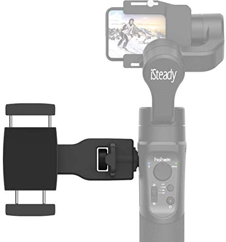 "Hohem Smartphone Holder Phone Clip for Hohem Gimbal Accessories for Hohem iSteady Pro 2/3, Mobile Plus Gimbal Stabilizer with 1/4"" Screw Sold by USKEYVISION"