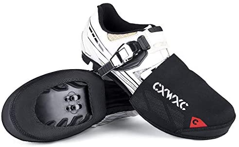 CXWXC Cycling Toe Covers for Men Women – Cycling Shoe Covers Winter Waterproof Breathable – Bike Overshoes Cold Weather Thermal Warm