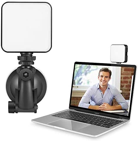 Video Conference Lighting Kit, Video Conferencing, Remote Working, Zoom Call Lighting, Self Broadcasting and Live Streaming, for Laptop Video Conferencing
