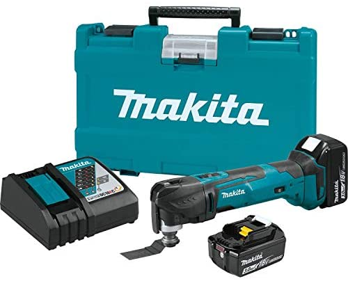 Makita XMT035 18V LXT Lithium-Ion Cordless Multi-Tool Kit (3.0Ah)