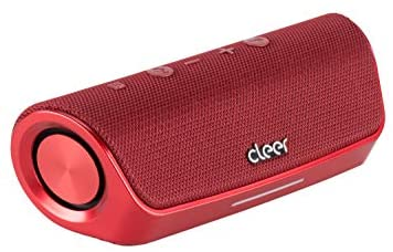Portable Wireless Bluetooth Speaker, Take Calls with Noise Cancellation, Alexa Enabled, Water-Resistant, 15 Hours Battery   Cleer Audio – Stage