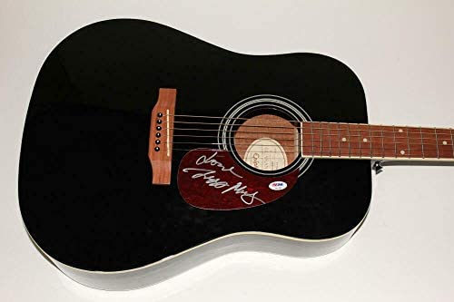 Ziggy Marley Signed Autograph Gibson Epiphone Acoustic Guitar -melody Makers – PSA/DNA Certified – Movie Miscellaneous Memorabilia