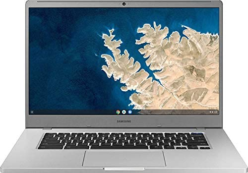 Samsung Chromebook 4 15.6″ FHD Laptop Computer for Business Student, Intel Celeron N4000 up to 2.6GHz, 4GB LPDDR4 RAM, 32GB eMMC, 802.11ac WiFi, Webcam, Chrome OS, iPuzzle MousePad, Online Class Ready