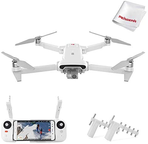 Xiaomi FIMI X8SE 2020 Quadcopter Drone 8km Range 4K Camera UHD 100Mbp HDR Video 35mins Flight Time FlyCam Quadcopter UAV GPS Real-time Tracking Smart Remote Controller, W Signal Booster