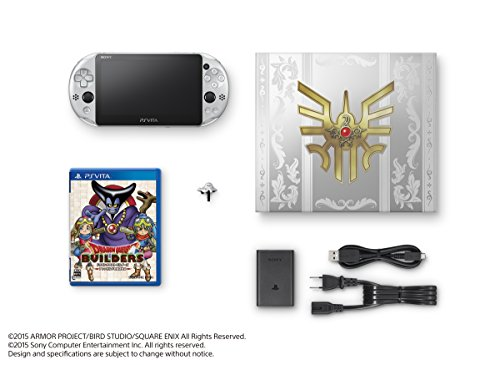 """PlayStation Vita Dragon Quest Metal Slime Edition (""""Dragon Quest Builders"""" included) Japan Import"""