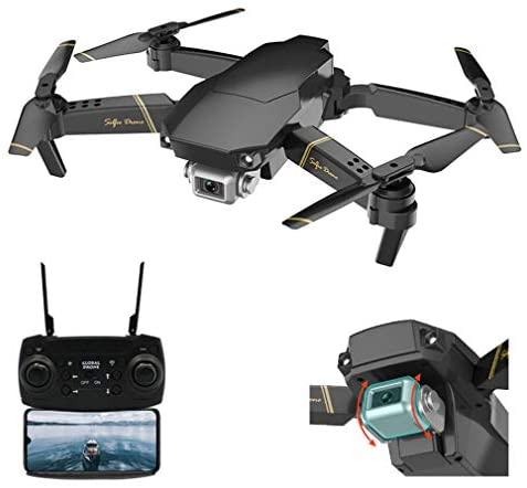 Drone FPV Drones with Camera for Adults 1080P HD Live Video, Foldable Drone for Beginners, RC Quadcopter, Follow Me, Altitude Hold and 2.4G WiFi Transmission