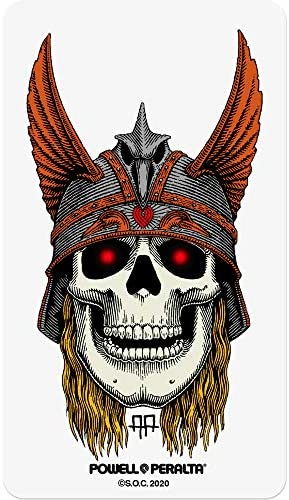 Powell Peralta Skateboard Sticker – Andy Anderson Skull 15cm high Approx New sk8
