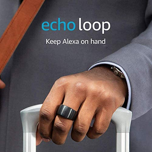 Echo Loop – Smart ring with Alexa – A Day 1 Editions product – Small