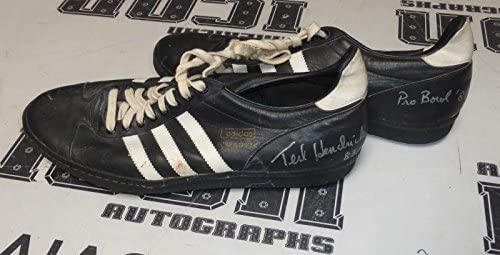 Ted Hendricks 2x Signed Game Used Worn 1981 Pro Bowl Cleates PSA/DNA COA Raiders – Other NFL Autographed Game Used Items
