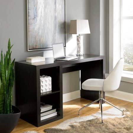 Better Homes & Gardens Desk Organizer Office Holder Storage Cube Organizer Desk with Timeless Design Available in Multiple Finishes 54.02 in W x 19.69 in D x 30.91 in H.
