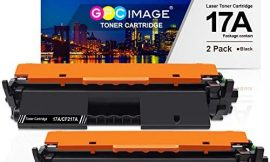 GPC Image Compatible Toner Cartridge Replacement for HP 17A CF217A Toner to use with Laserjet Pro M102w M130nw M130fw M130fn M102a M130a Laserjet Pro MFP M130 M102 Series Printer (2 Black)