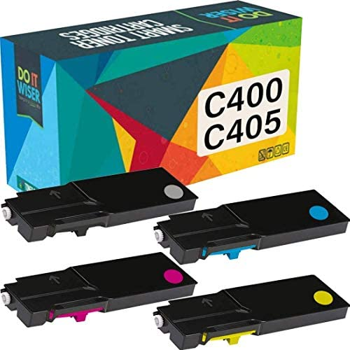 Do it Wiser Remanufactured Toner Cartridge Replacement for Xerox VersaLink C405 C400 C400D C400DN MFP C405DN C405N | Extra High Yield 106R03524 106R03526 106R03527 106R03525 (4 Pack)