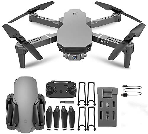 LLTFFFHM GPS Foldable 4K HD Camera Drones,WiFi RC FPV Drone,with 20 mins Flight Time, Auto Return Home.