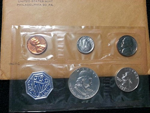 1962 US Proof Set Superb Gem Uncirculated