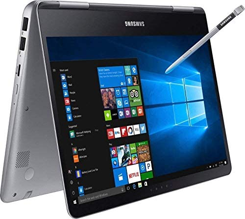Premium 2019 Samsung Notebook 9 Pro Business 15.6″ FHD 2-in-1 Touchscreen Laptop/Tablet Intel Quad-Core i7-8550U, 16GB DDR4, 512GB SSD, 2G Radeon 540 Backlit KB USB-C 4K Display Out S Pen Win 10