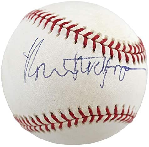 Robert Redford The Natural Signed '01 WS Ceremonial First Pitch Oml Baseball – PSA/DNA Certified – Movie Miscellaneous Memorabilia
