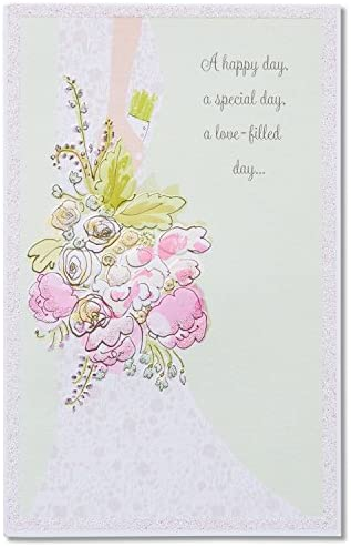 American Greetings Wedding Card for Bride (A Happy Day)