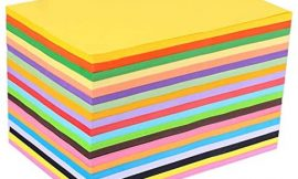 Bocotous Size A4 Colored Printer Paper Copy Paper Craft Projects Pack of 100