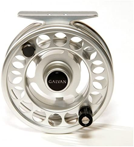 Galvan Rush Light 4 Fly Reel, Clear – with $20 gift card