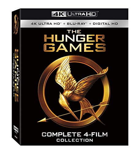 Hunger Games Complete 4K 4-Film Collection [Blu-ray]