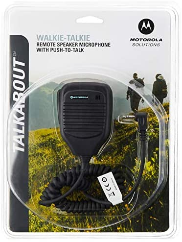Motorola 53724 Remote Speaker Microphone (Black)