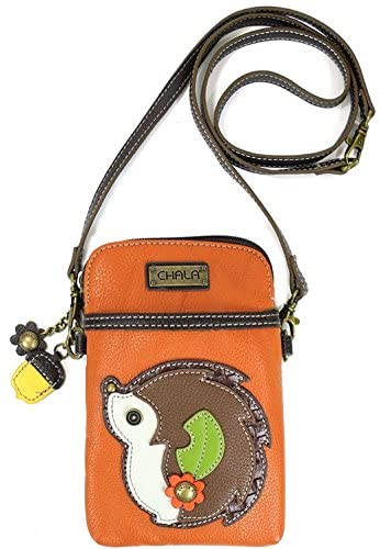Chala Crossbody Cell Phone Purse – Women PU Leather Multicolor Handbag with Adjustable Strap