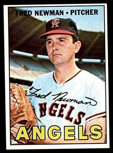1967 Topps # 451 Fred Newman Los Angeles Angels (Baseball Card) NM Angels