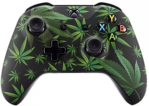 Xbox One Wireless Controller for Microsoft Xbox One – Custom Soft Touch Feel – Custom Xbox One Controller (Weeds)