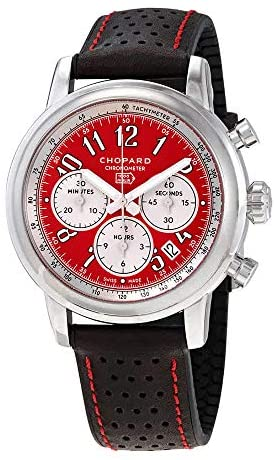 Chopard Mille Miglia Racing Colors Red Dial Limited Edition Men's Watch 168589-3008