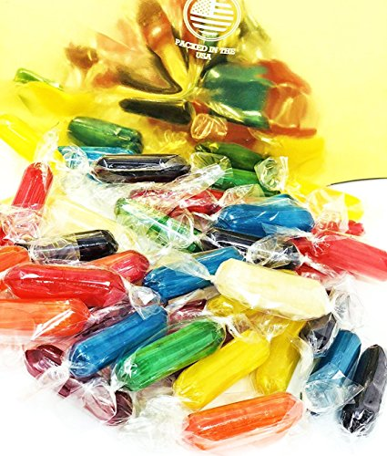 SweetGourmet Assorted Fruit Flavored Rods Hard Candy | 3 Pounds