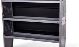 AA Products Inc. SH-4605 Steel Low/Mid/High Roof Van Shelving Storage System Fits Transit, GM, NV, Promaster, Sprinter and Metris, Contoured Shelving Unit, 52″ W x 46″ H x 13″ D