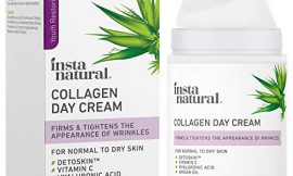 Collagen Face Cream – Anti Aging Daytime Facial Moisturizer – Firming & Tightening Wrinkle Care – Youthful Skin Hydrating Lotion – Pore Minimizer – Counteracts Blue Light – Hyaluronic Acid & Vitamin C