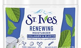St. Ives Face Moisturizer for Dry Skin, Paraben free and Non Comedogenic, 10 oz