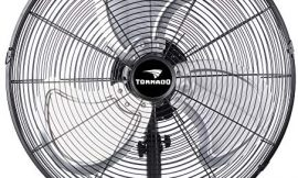 Tornado – 20 Inch Pro Series Oscillating Wall Mount Fan – High Velocity Heavy Duty Metal Wall Mount Fan for Industrial, Commercial, Residential, and Greenhouse Use – ETL Safety Listed