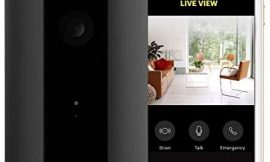 CANARY View: Indoor Security Camera | Home Monitoring, WiFi, Wide-Angle Lens, Motion Alerts, Compatible with Alexa & Google Home, Black
