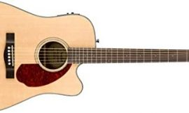 Fender CD-140SCE Dreadnaught – Walnut Fingerboard – Natural – with Case