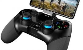 Mocoe Mobile Game Controller, Bluetooth & 2.4G Wireless Gamepad, Gaming Joystick Suitable for/Android/PC/TV Box/PS3 Host, for Most Popular Game Gaming Grip